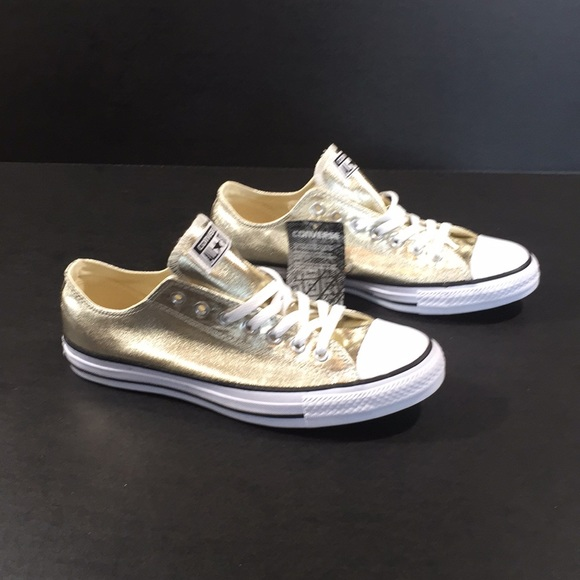 Converse 153181F CTAS OX LIGHT GOLD WHITE 191c8be65
